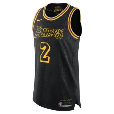 Купить Мужское джерси Nike НБА Lonzo Ball City Edition Authentic Jersey (Los Angeles Lakers) с технологией NikeConnect