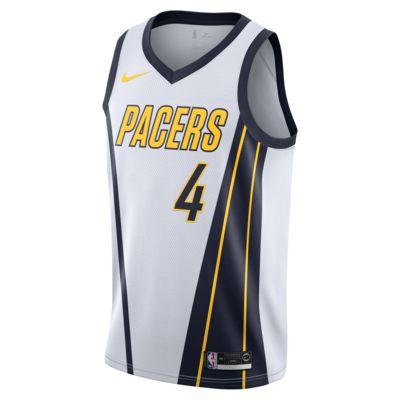 Jersey conectada Nike NBA para hombre Victor Oladipo Earned City Edition Swingman (Indiana Pacers)
