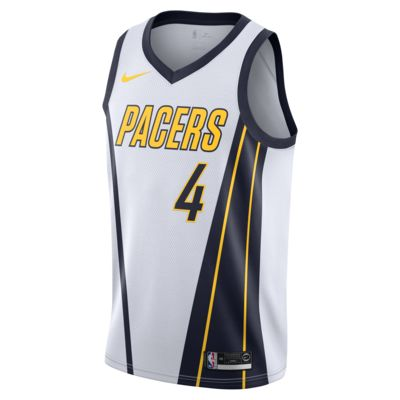 Victor Oladipo Earned City Edition Swingman (Indiana Pacers) Men's Nike NBA Connected Jersey