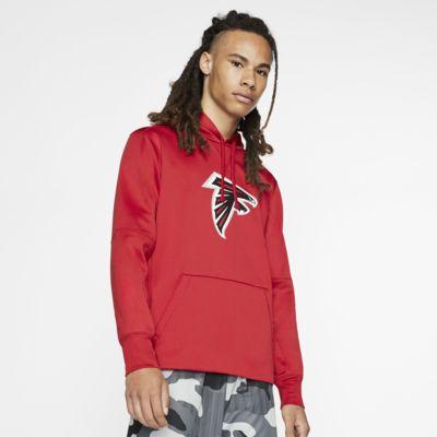 Nike Dri-FIT (NFL Falcons)-hættetrøje til mænd