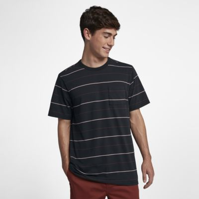 Hurley Dri-FIT Straya  Men's Short-Sleeve Striped Top