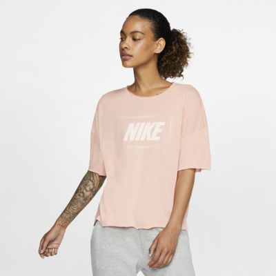 Nike Dri-FIT Women's Short-Sleeve Graphic Training Top