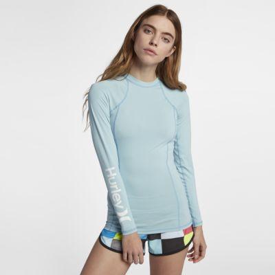 Hurley One And Only Rashguard Women's Surf Shirt