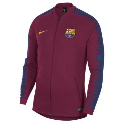 FC Barcelona Anthem Men's Football Jacket