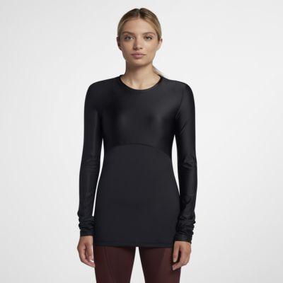 Nike Pro HyperCool 女子长袖训练上衣