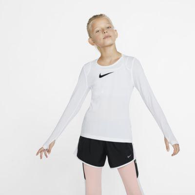 Nike Pro Big Kids' (Girls') Long-Sleeve Top