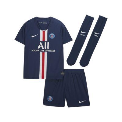 Kit de fútbol de local para niños talla pequeña del Paris Saint-Germain 2019/20
