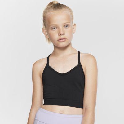 Nike Dri-FIT sportmelltartó lányoknak
