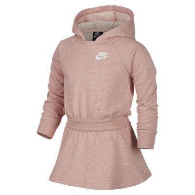 Nike Sportswear Younger Kids' Long-Sleeve Hooded Dress