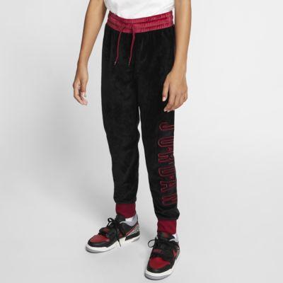 Air Jordan Older Kids' (Girls') Velour Cuffed Trousers