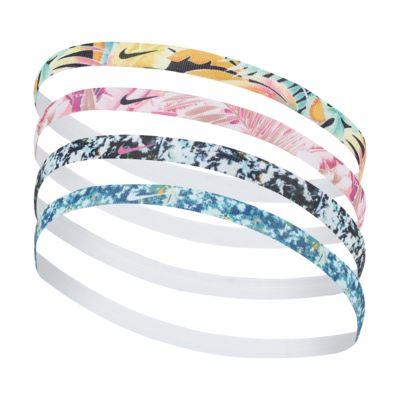 Nike Printed Hairbands (4 Pack)