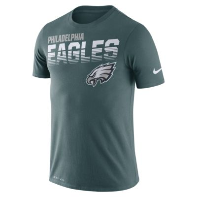 Playera manga corta para hombre Nike Legend (NFL Eagles)
