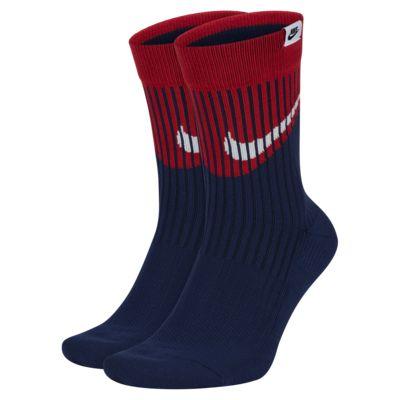 Nike SNKR Sox Swoosh 中筒襪 (2 雙)