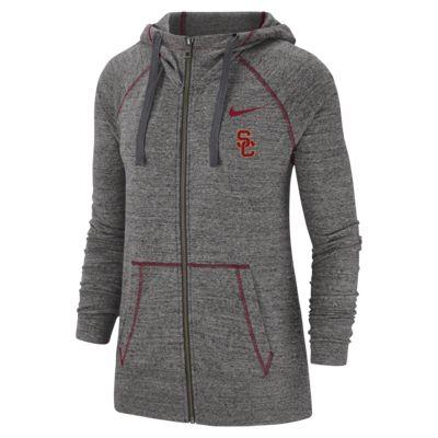 Nike College Gym Vintage (USC) Women's Full-Zip Hoodie