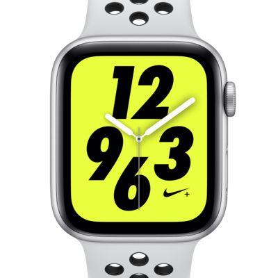 Montre Sport Apple Watch Nike+ Series 4 (GPS) 44 mm avec bracelet Nike Sport Band