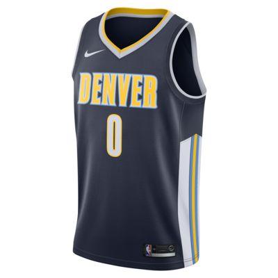 Купить Мужское джерси Nike НБА Emmanuel Mudiay Icon Edition Swingman Jersey (Denver Nuggets) с технологией NikeConnect