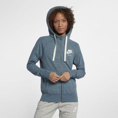 Nike Sportswear Gym Vintage Women s Full-Zip Hoodie. Nike.com deae0e496