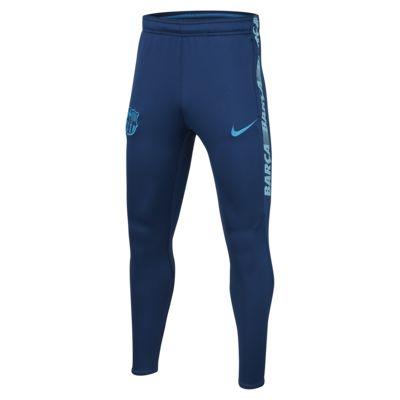 Купить Футбольные брюки для школьников FC Barcelona Dri-FIT Squad
