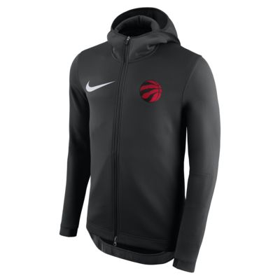 Huvtröja Toronto Raptors Nike Therma Flex Showtime NBA för män