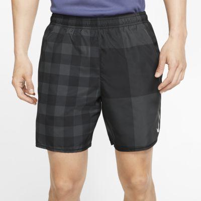 """Nike Challenger 男款 7"""" 印花跑步短褲"""