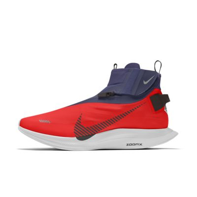 Scarpa da running personalizzabile Nike Zoom Pegasus Turbo Shield By You - Donna
