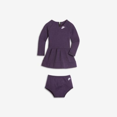 Κοριτσίστικο φόρεμα Nike Tech Fleece για βρέφη και νήπια