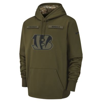 Nike Therma Salute to Service (NFL Bengals) Men's Hoodie