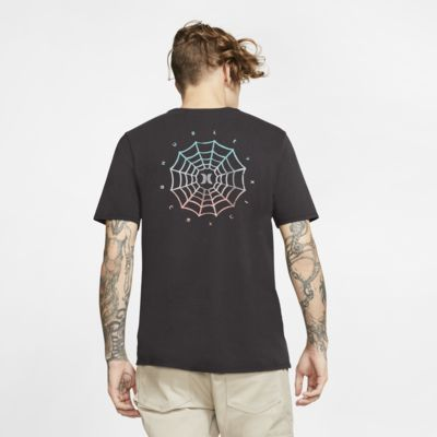 Hurley Web Logo Men's Premium Fit T-Shirt