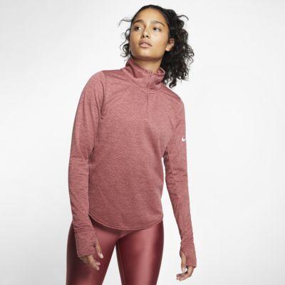 Prenda para la parte superior de running de medio cierre para mujer Nike Sphere Element