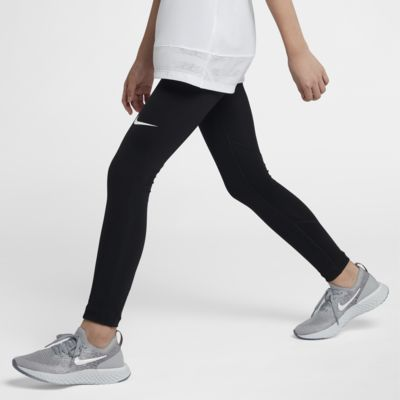 Träningstights Nike Pro för tjejer