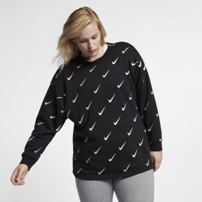 Nike Sportswear Rally Women's Metallic Crew (Plus Size)