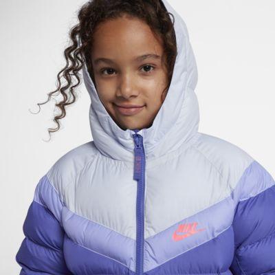 Bunda Nike Sportswear se syntetickou výplní pro větší děti