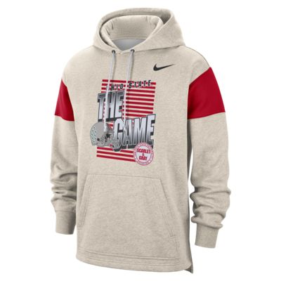 Nike College (Ohio State) Men's Pullover Hoodie
