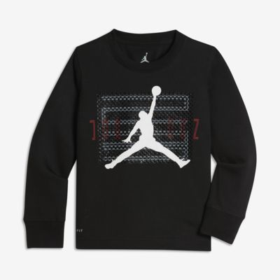 Μακρυμάνικο T-Shirt Jordan Dri-FIT Retro 11 για μικρά αγόρια