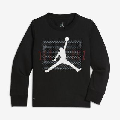 T-shirt z długim rękawem dla małych dzieci (chłopców) Jordan Dri-FIT Retro 11