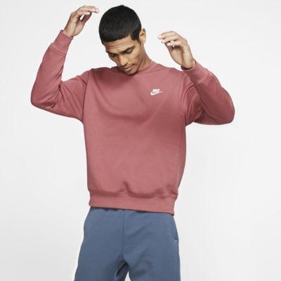 Męska bluza z półokrągłym dekoltem Nike Sportswear Club