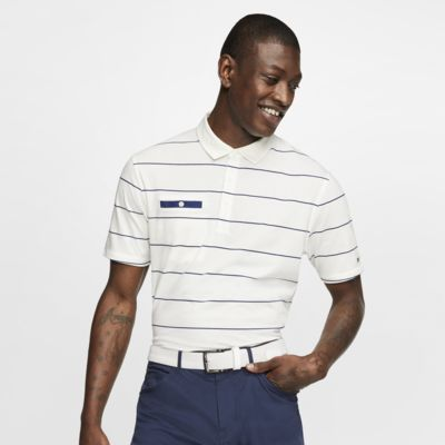 Polo de golf a rayas para hombre Nike Dri-FIT Player