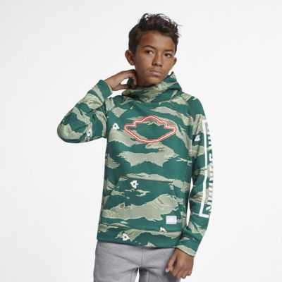 Jordan City of Flight-pullover-hættetrøje til store børn (drenge)