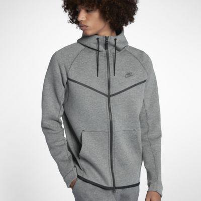 Nike Sportswear Veste en sweat carbon heatherblack