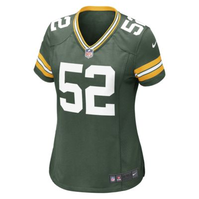 NFL Green Bay Packers (Clay Matthews) Women's Football Home Game Jersey