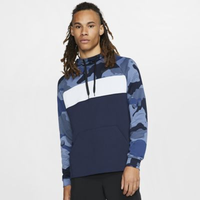 Nike Dri-FIT Men's Fleece Camo Training Hoodie