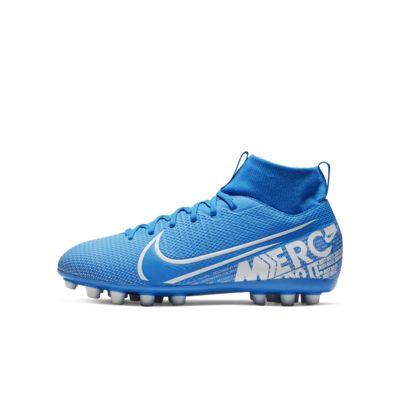 Nike Jr. Mercurial Superfly 7 Academy AG Botes de futbol per a gespa artificial - Nen/a i nen/a petit/a