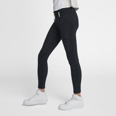 กางเกงรัดรูปเอวปานกลางผู้หญิง Nike