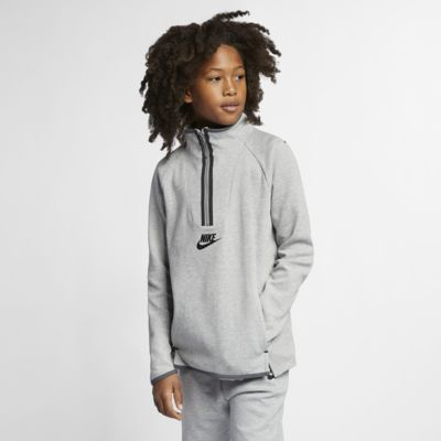 Nike Sportswear Tech Fleece Kids' Long-Sleeve Top