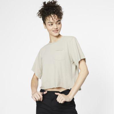 Hurley Dwellers Pocket Kurz-T-Shirt für Damen