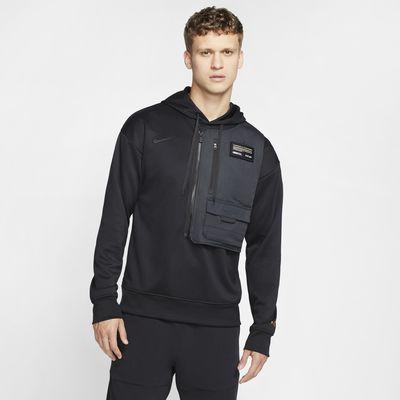Nike Dri-FIT Bondy kapucnis, belebújós férfipulóver futballhoz
