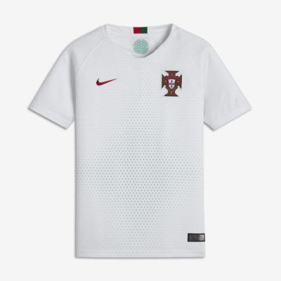 Camiseta de fútbol para niños talla grande 2018 Portugal Stadium Away