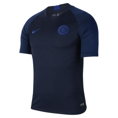 Nike Breathe Chelsea FC Strike Men's Short-Sleeve Football Top