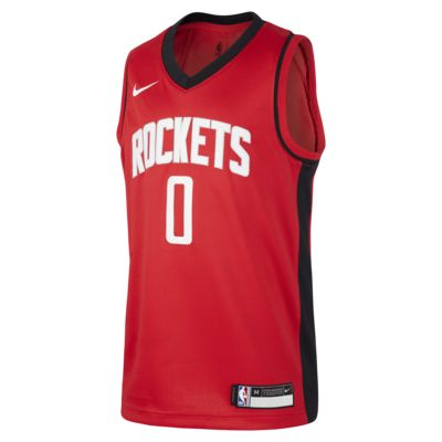 Rockets Icon Edition Older Kids' Nike NBA Swingman Jersey