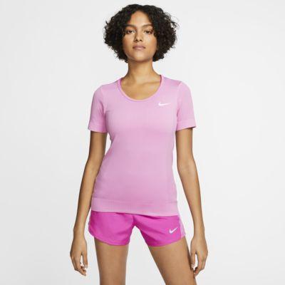 Γυναικεία κοντομάνικη μπλούζα για τρέξιμο Nike Infinite